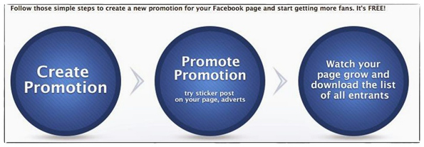 Free tool to create sweepstakes for Facebook