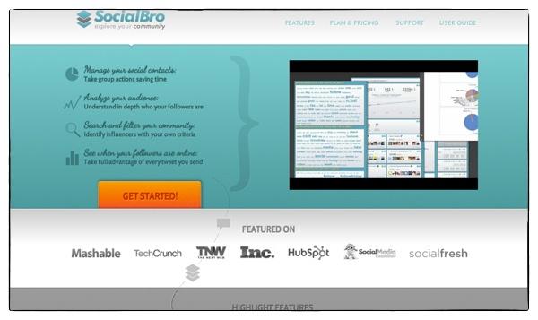 SocialBro App // WhichSocialMedia