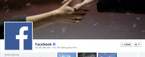 Facebook Pages now come in Verified Accounts