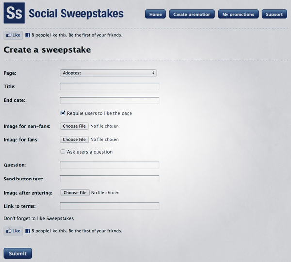 Social Sweepstakes // WhichSocialMedia.com