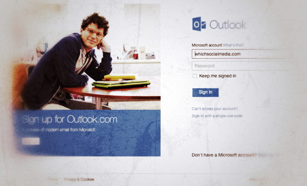 outlook.com // WhichSocialMedia.com