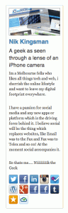 about.me addon // WhichSocialMedia