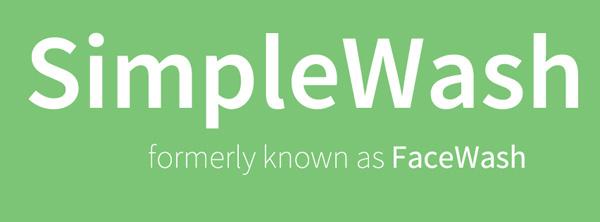SimpleWash - Formally known as FaceWash