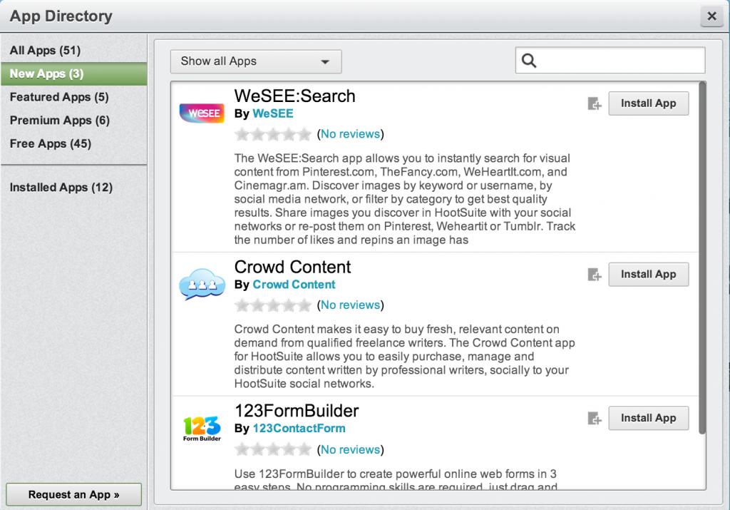 HootSuite App Directory