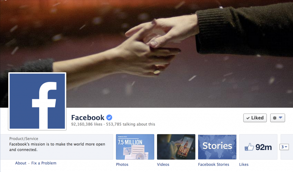 Facebook - Verified Pages