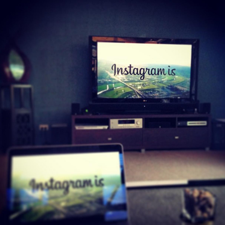 Instagram is...
