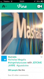 Vine - Mashable